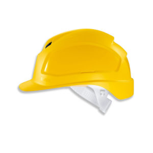 uvex 9772120 Head Protection Pheos B Safety Helmet Yellow | Delta Health and Safety