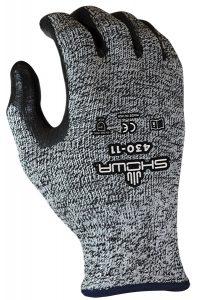 Showa 430 Cut Resistant Glove Bi-Polymer Sponge Palm | Delta Health and Safety