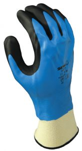 Showa 377 Chemical Resistant Glove Foam Nitrile | Delta Health and Safety