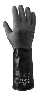 Showa 874R Chemical Resistant Butyl Glove | Delta Health and Safety