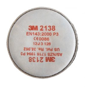 3M 2138 Nuisance Level Organic Vapour Acid Gas Particulate Filter | Delta Health and Safety
