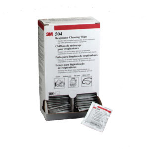 3M 504 Respirator Cleaning Wipe | Delta Health and Safety