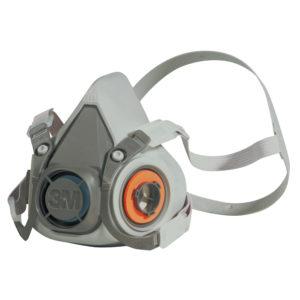 3M 6200 Half Mask Reusable Respirator - Medium | Delta Health and Safety