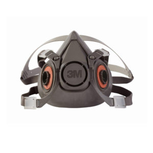 3M 6300 Half Mask Reusable Respirator - Large | Delta Health and Safety