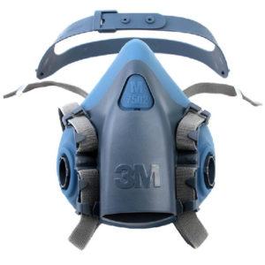 3M 7502 Silicone Half Mask Reusable Respirator | Delta Health and Safety