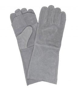 Chrome Leather Double Palm Glove | Delta Health and Safety
