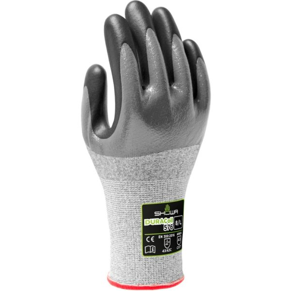 Showa cut protection gloves DURACoil 576   Delta Health and Safety