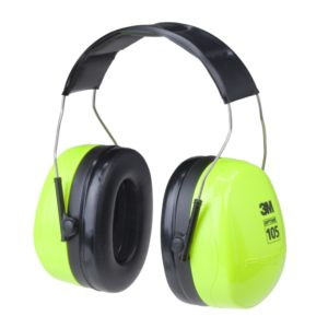 3M earmuff optime 105 high visibility headband | Delta Health and Safety