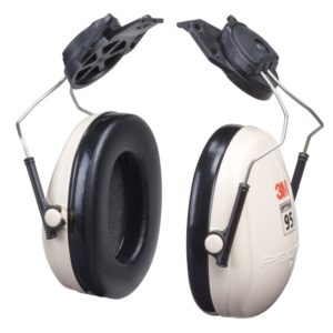 3M earmuff optime 95 capmount hearing protection | Delta Health and Safety