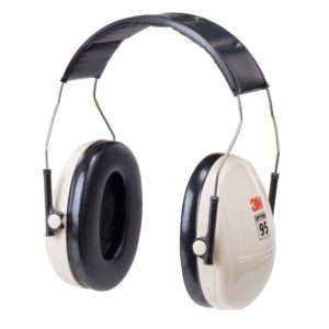 3M earmuff Optime 95 headband hearing protection | Delta Health and Safety