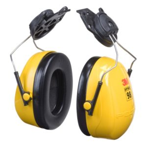 3M earmuff Optime 98 capmount hearing protection | Delta Health and Safety
