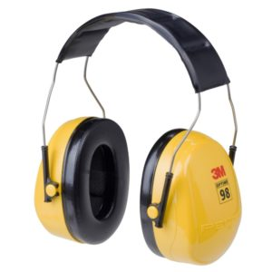 3M earmuff Optime 98 headband hearing protection | Delta Health and Safety