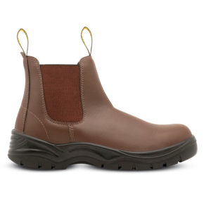 Rebel Chelsea Boot FX2-CB-S1P Brown | Delta Health and Safety