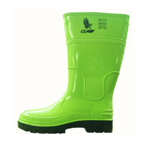 Claw Hi-Viz General Footwear Gumboot | Delta Health and Safety