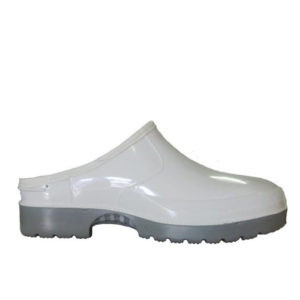 Claw Slip On White Blood and Fat General Footwear Gumboot | Delta Health and Safety