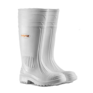 Wayne Gumboot Knee Length Egoli White | Delta Health and Safety