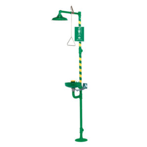 Haws 8320CRP Combination Unit | Safety Shower Eyewash | Delta Health and Safety Equipment