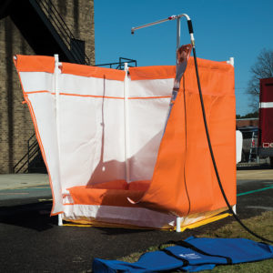 Kappler Safety Shower Curtain Assembly | Delta Health and Safety Equipment