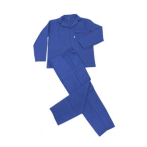 Conti suit royal blue polycotton | General Workwear | Delta Health and Safety
