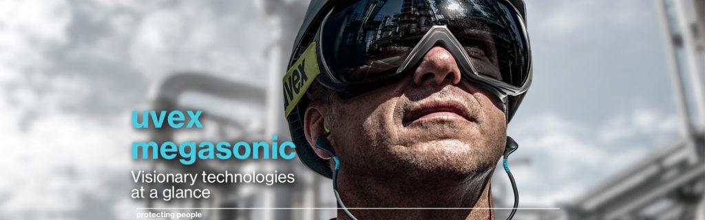 uvex megasonic: Frameless Safety Glasses | Delta Health & Safety