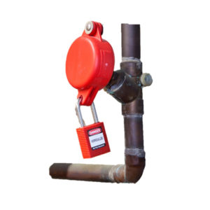 Brady Gate Valve Lockout | Lockout Tagout | Delta Health and Safety