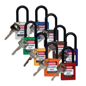 Brady Nylon Padlocks | Lockout Tagout | Delta Health and Safety