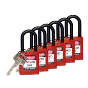 Brady Standard Safety Padlock | Lockout Tagout | Delta Health and Safety