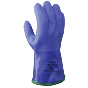 Showa 490 chemical resistant glove PVC | Hand Protection | Delta Health and Safety