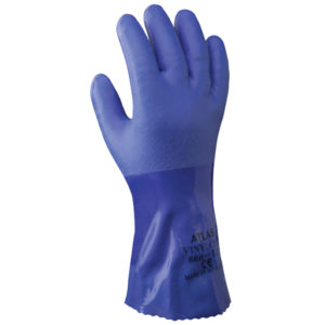 Showa 660 chemical resistant glove pvc | Hand Protection | Delta Health and Safety