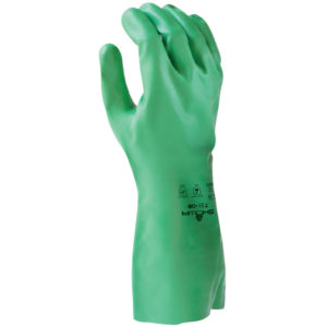 Showa 731 chemical resistant glove nitrile biodegradable | Hand Protection | Delta Health and Safety