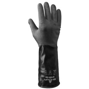 Showa 874R chemical resistant glove butyl | Hand Protection | Delta Health and Safety