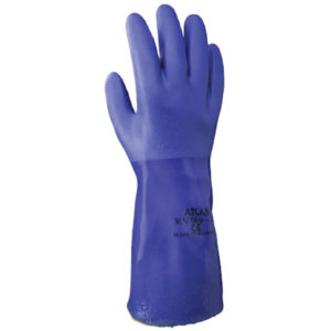 Showa KV660 chemical resistant glove PVC kevlar lined | Hand Protection | Delta Health and Safety