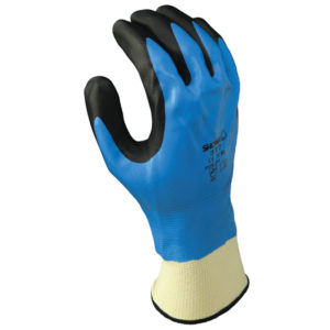 Showa 377 chemical resistant glove foam nitrile | Hand Protection | Delta Health and Safety