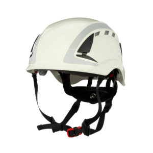 View of 3m SecureFit Safety Helmet from leftside | Head Protection | Delta Health and Safety