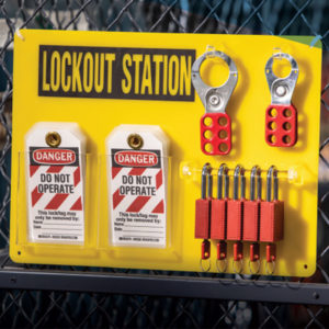 Brady lockout station 5 board promotion | Delta Health and Safety
